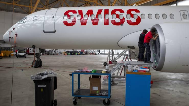 Wie lange die Swiss-Maschinen noch am Boden bleiben, ist unklar.