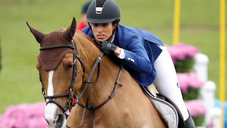 Janika Sprunger auf Bonne Chance trug ihren Teil zum Triumph in Schweden bei