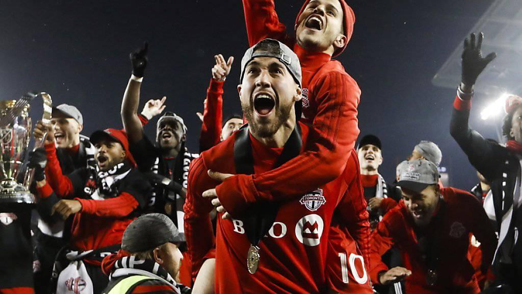 Toronto feiert den erstmaligen Titelgewinn in der Major Soccer League