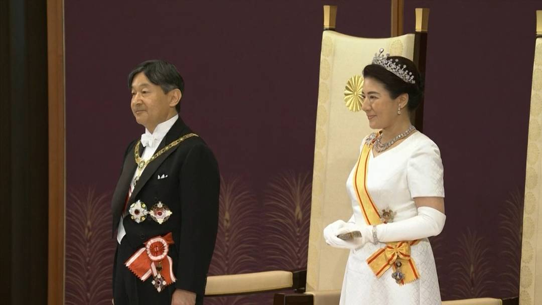 Japans Kaiser Naruhito läutet neue Ära ein