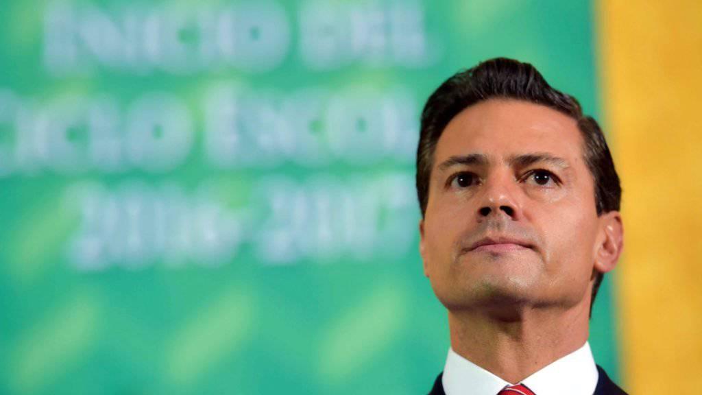 Auch Du, Enrique: Mexikos Präsident Peña Nieto hat bei seiner Jura-Arbeit geschummelt. (Archivbild)