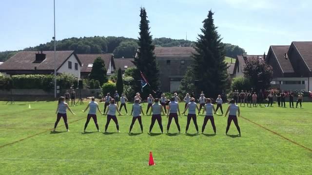 Kreisturnfest in Würenlos: Der TSV Rohrdorf bei der Gymnastik Kleinfeld