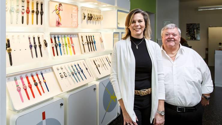 Ab 6. Februar wird Bruno Bertini mit seinem Uhrengeschäft in den Räumen der Team-Papeterie von Agnes Chirico anzutreffen sein.