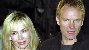 Seit 18 Jahren verheiratet: Sting und Trudy Styler (Archiv)