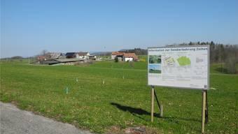 Beim Weiler Eichwald möchte die Nagra Sondierbohrungen für ein Atom-Endlager durchführen. Petitionäre und nun auch die Gemeinde wehren sich dagegen. mf