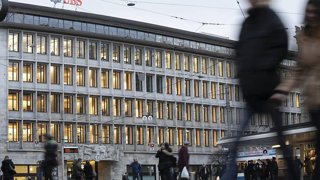 UBS mit Gewinnrückgang im dritten Quartal (Archivbild)