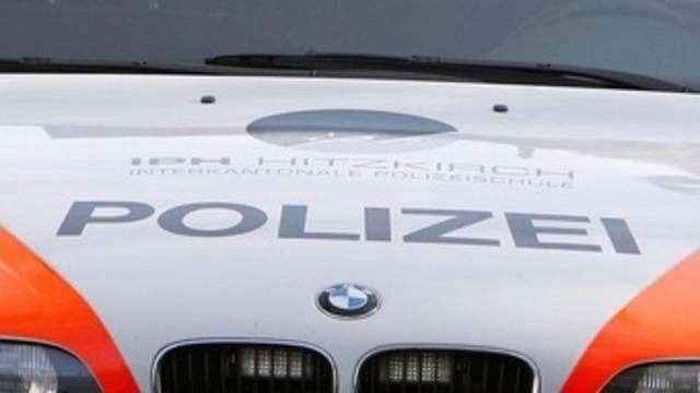 Ein Polizeiauto (Archiv)