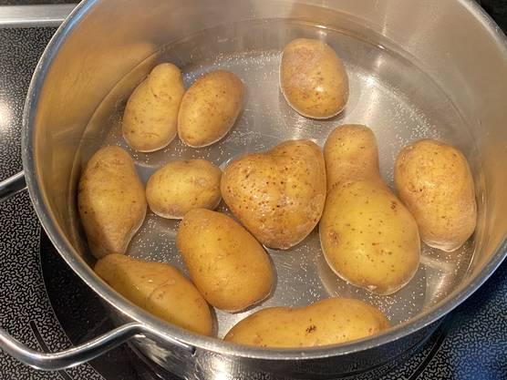Die herzliche Kartoffel mittendrin