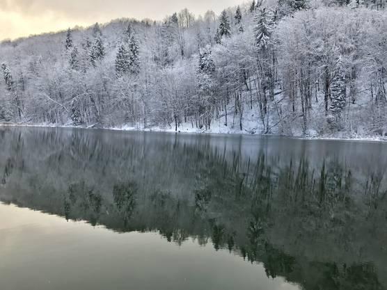 Egelsee: Winterwunderland