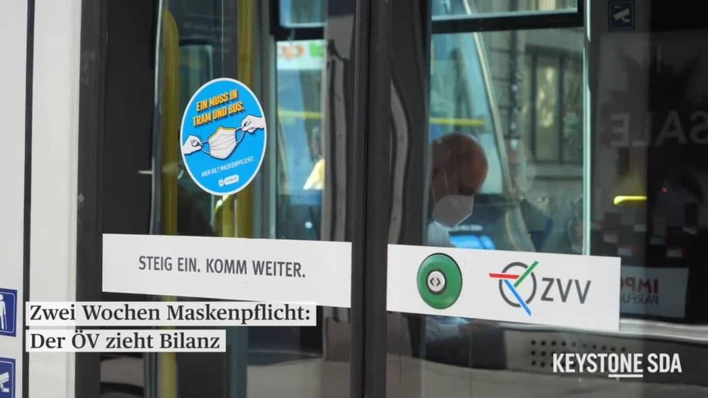 Zwei Wochen Maskenpflicht: Mehrheitlich positive Bilanz, ausser in der Schifffahrt