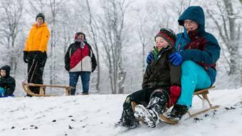 Winterstimmung auf der Badener Baldegg