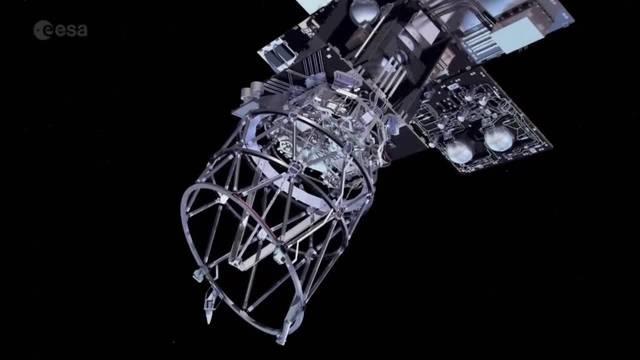 «Aeolus» startet in den Weltraum