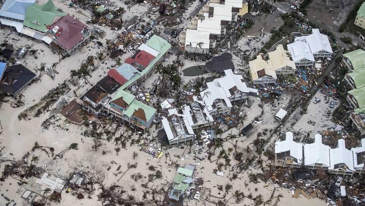 95Prozent der Insel zerstört: Bild des Schreckens aus Philipsburg, Saint-Martin.