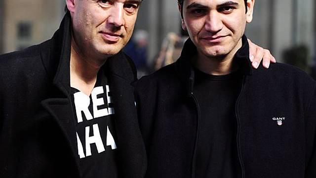 Fernand Melgar und Fahad Khammas