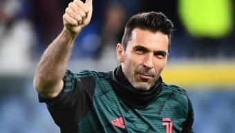 Die Nummer 1 an Einsätzen: Gianluigi Buffon