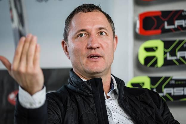 Marc Gläser, CEO von Stöckli, fotografiert am 30. Januar 2015.