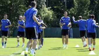 Der FC Basel trainiert «hinter verschlossenen Türen».