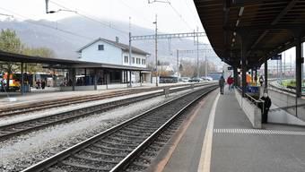 Am Abend des 31. März gerieten auf dem Gelände des Bahnhofs Oensingen zwei Männer in einen Streit. (Archivbild)