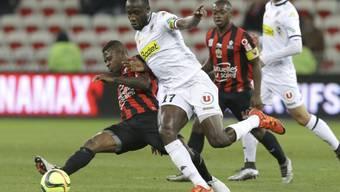 Cheikh N'Doye von Angers erzielte seine dritte Doublette in der laufenden Saison