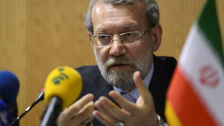 Parlamentspräsident Ali Laridschani (Archiv)