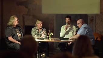 Kurt Gilomen, Georges Müller, Stefan Hofmänner und Dagobert Cahannes.