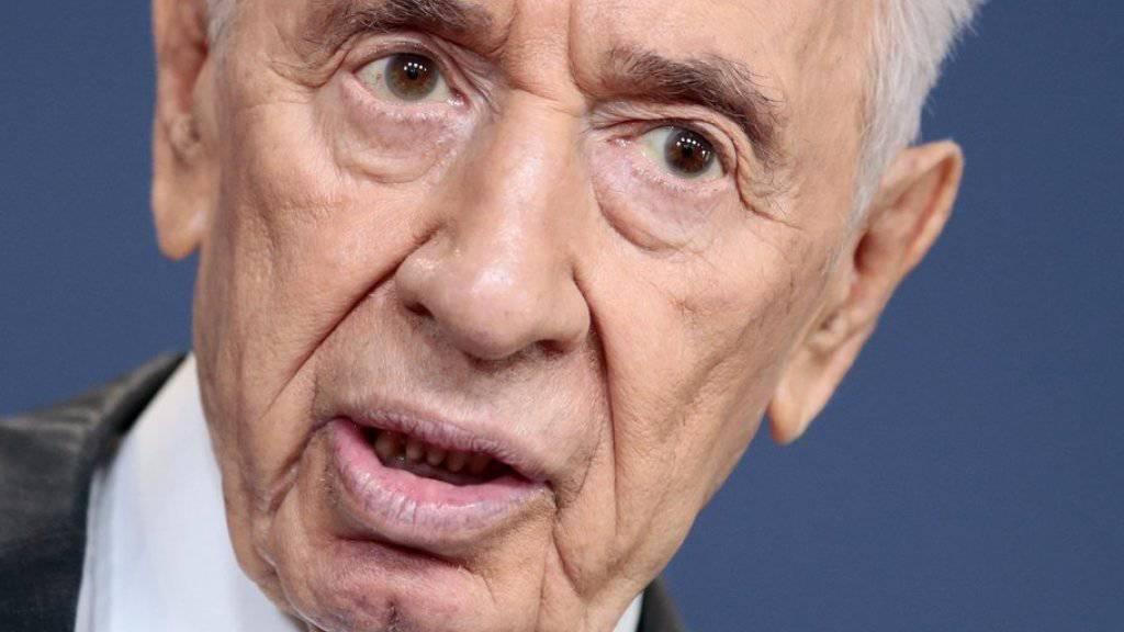 Israels Präsident Rivlin ehrt Vorgänger Peres als Visionär