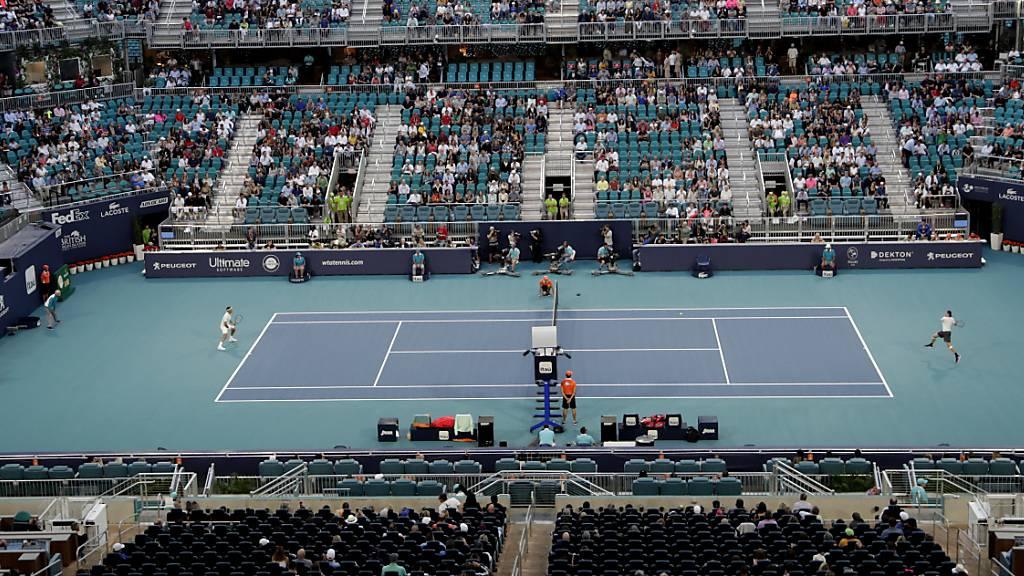 Auch Turnier in Miami abgesagt