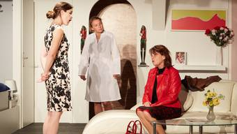 «Schlüssel für zwei»: Eva Fasolin, Elli Suter und Lilian Jeannerat (von links).