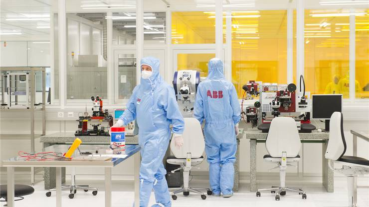 Forschungslabor der ABB: Müssen seine Forscher ihre Leistungen dereinst auf dem freien Markt anbieten?ABB