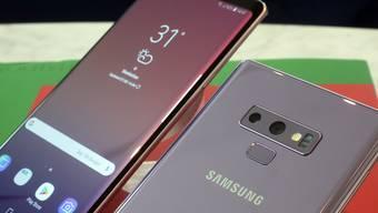 """Gegen die Flaute auf dem Handymarkt: Samsung setzt mit dem neuen Smartphone """"Galaxy Note 9"""" auf Spiele-Nutzer."""
