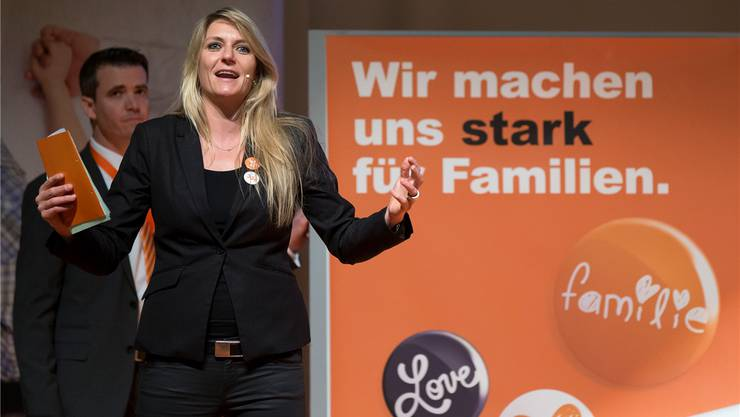 Offensiv und engagiert: CVP-Generalsekretärin Béatrice Wertli.