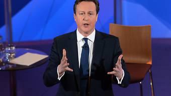 Überzeugte laut Umfrage am meisten: Premier David Cameron