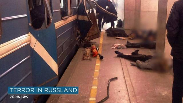 Terroralarm in St. Petersburg?