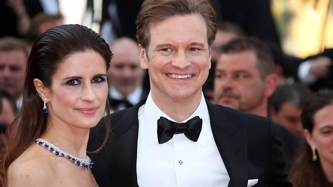 Colin Firth mit seiner Frau Livia im Jahr 2016 in Cannes. (Archivbild)