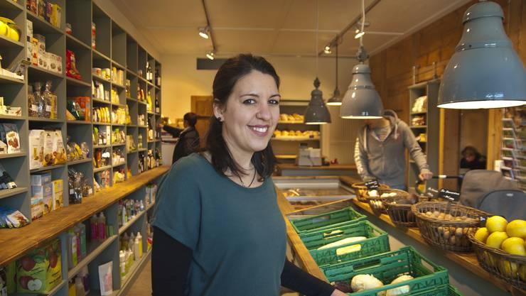 Bei Claudia Zimmermann finden die Kunden alles für den täglichen Gebrauch.