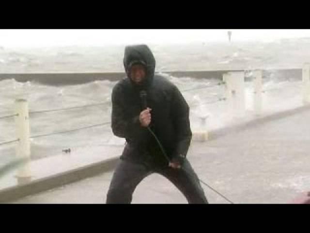 So berichtete der US-Nachrichtensender «Fox News» über Hurrikan «Harvey»