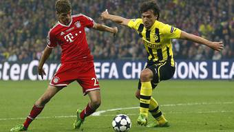 Thomas Müller und Mats Hummels treffen sich am Sonntag zum grossen Duell.