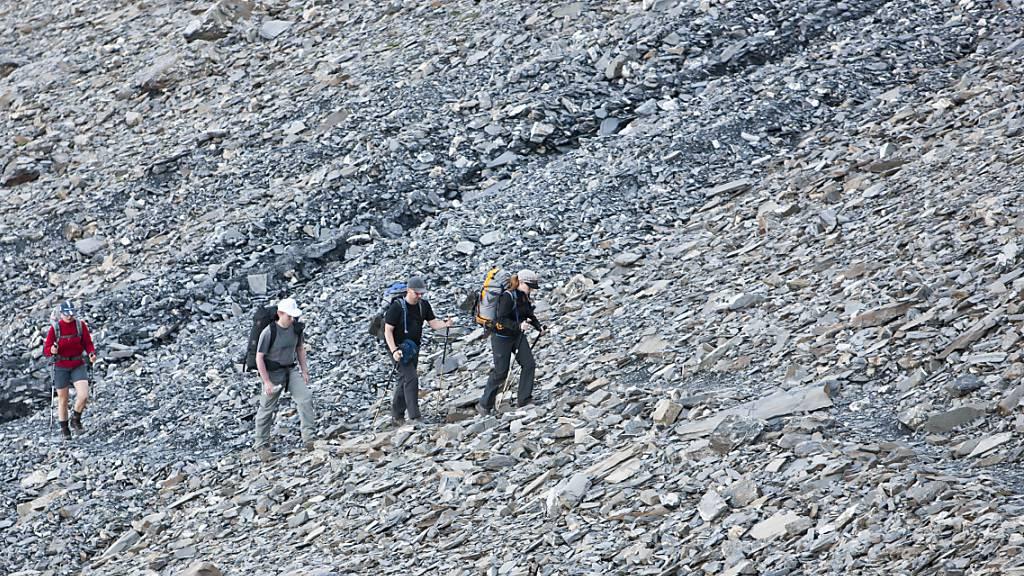Viele Berggänger sind nicht fit genug
