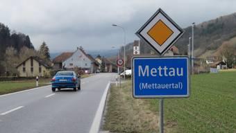 Am 20. März 2008 beschlossen die Gemeindeversammlungen von Etzgen, Hottwil, Mettau, Oberhofen und Wil die Fusion zur Gemeinde Mettauertal. (Archiv)