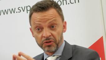Hans-Ueli Vogt  lag bei den Wahlen vom Sonntag hinter Daniel Jositsch und Ruedi Noser.