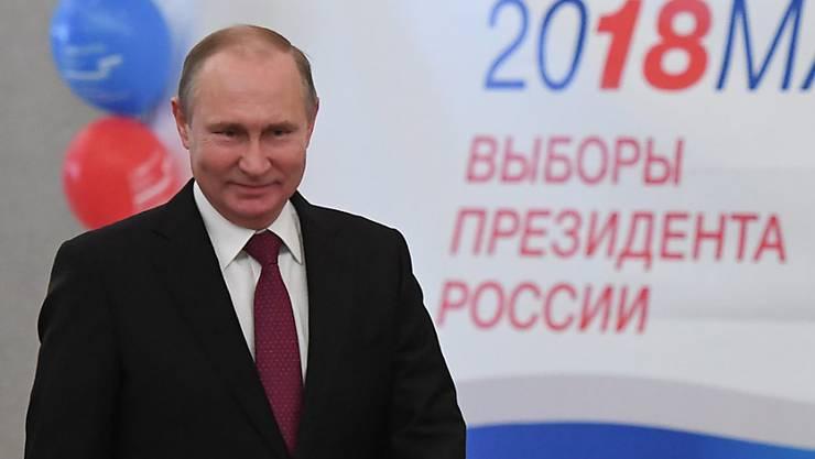 Das freut Putin: Der Westen kuscht vor seinen grösser werdenden Machtansprüchen.