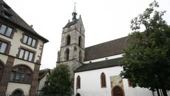Die Martinskirche gilt als älteste Pfarrkirche in Basel. Sie wird erstmals im Jahr 1101 urkundlich erwähnt. (Archiv)