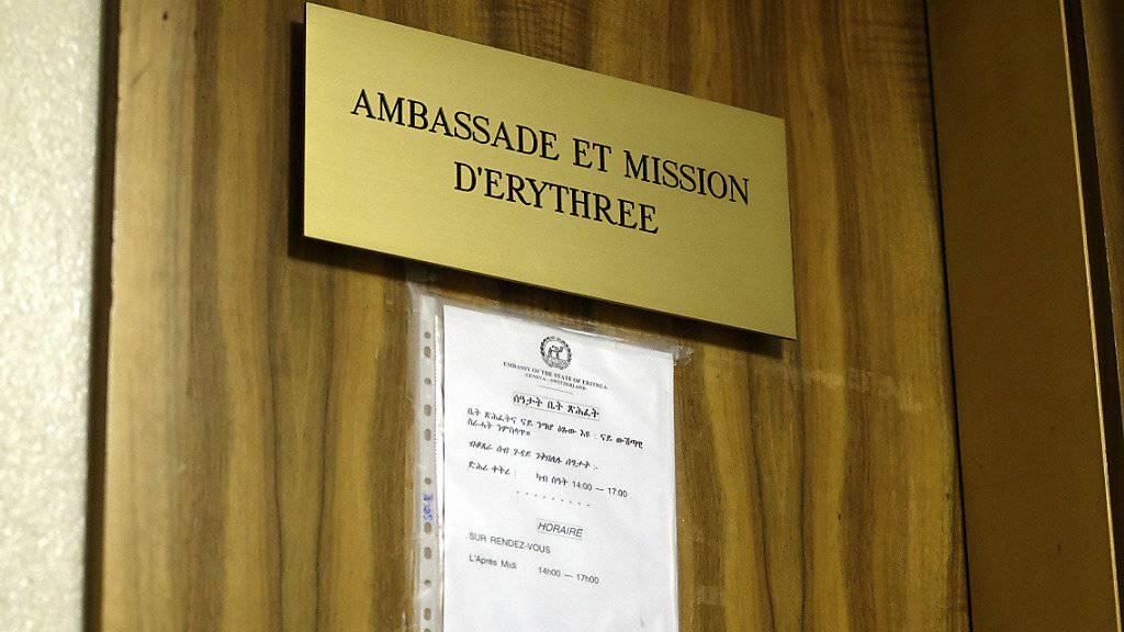 Die Bundesanwaltschaft stösst die Tür zum Strafverfahren wegen mutmasslicher Steuereintreibung auf dem Konsulat Eritreas in Genf nicht auf. (Archiv)