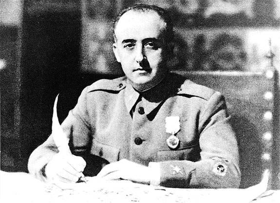 General Francisco Franco putschte am 17. Juli 1936 gegen die demokratisch gewählte Regierung der Zweiten Spanischen Republik