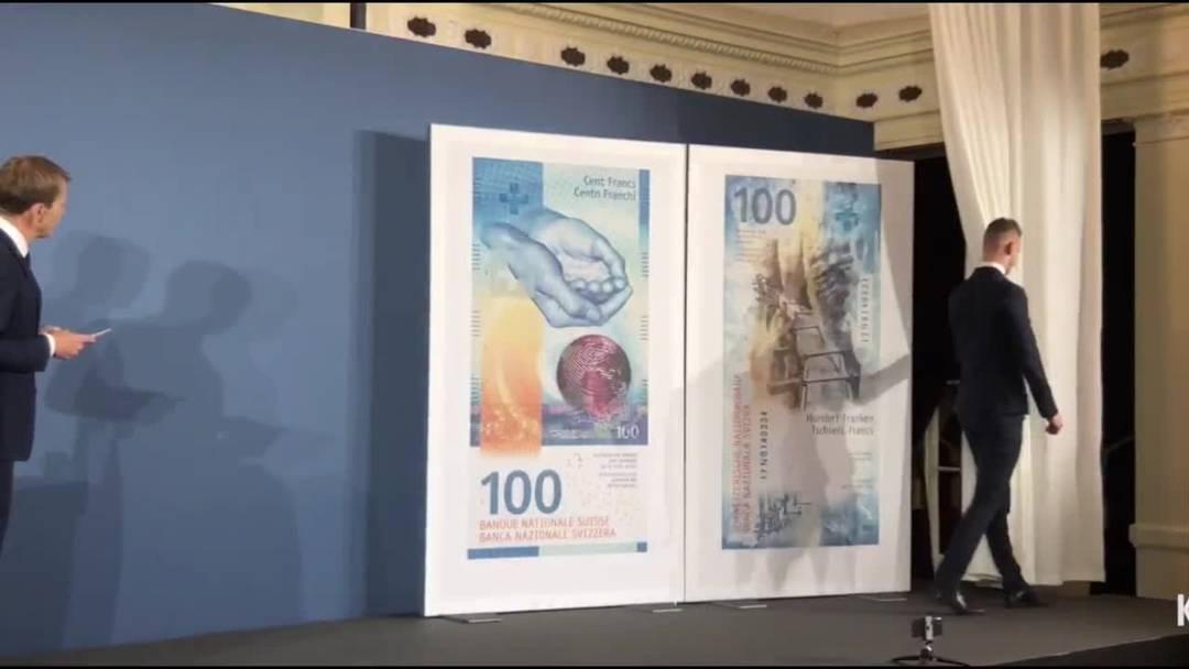 3. September 2019: Die Enthüllung der neuen 100er-Note im Video
