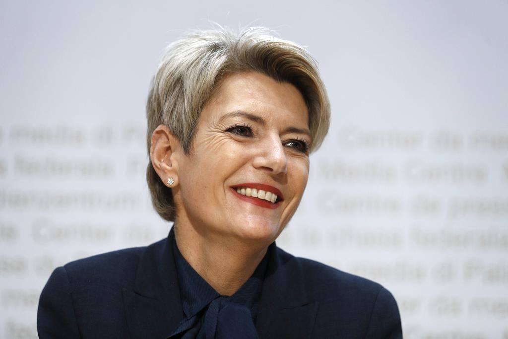 Karin Keller-Sutter ist Bundesrätin.