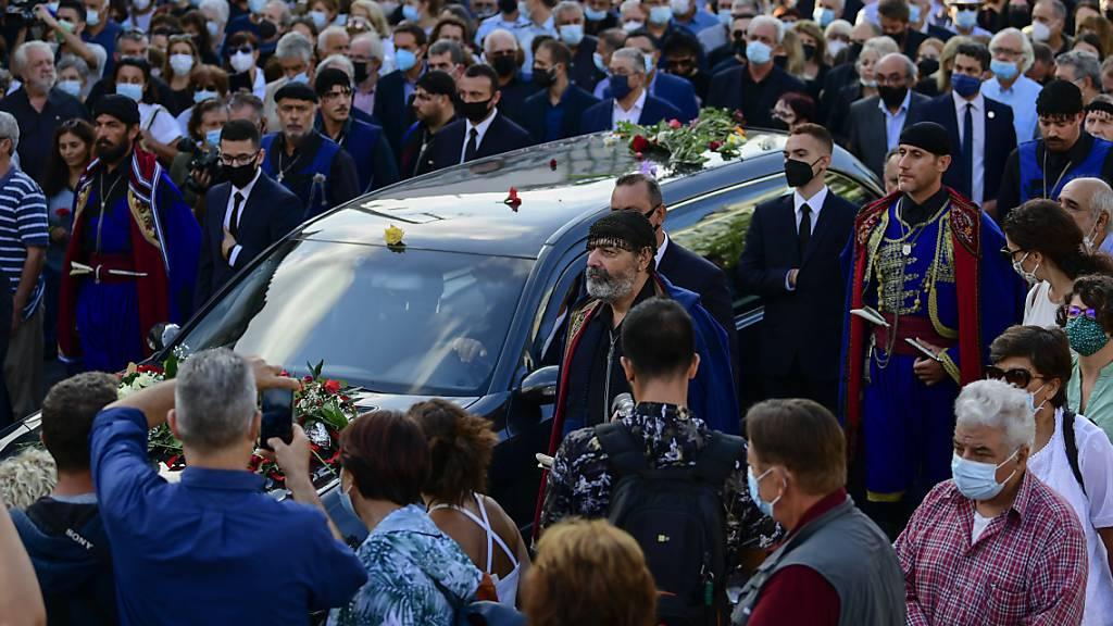 Letzter Abschied von Mikis Theodorakis – Beerdigung auf Kreta