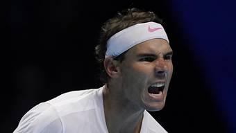 Nie aufgegeben, Chance auf die Halbfinals gewahrt: Rafael Nadal an den ATP Finals gegen den bereits qualifizierten Stefanos Tsitsipas seinen zweiten Sieg