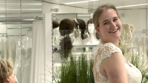 Sarah über ihr Hochzeitskleid: «Ich war sprachlos»