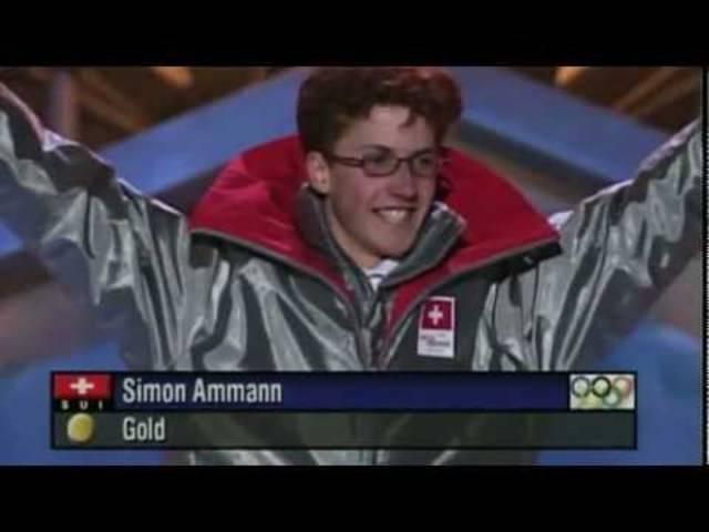 Stimmen zum Doppelolympiasieg von Simon Ammann im Jahre 2002.